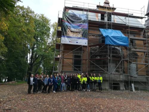 Praktyka zawodowa w Pałacu w Rzuchowie